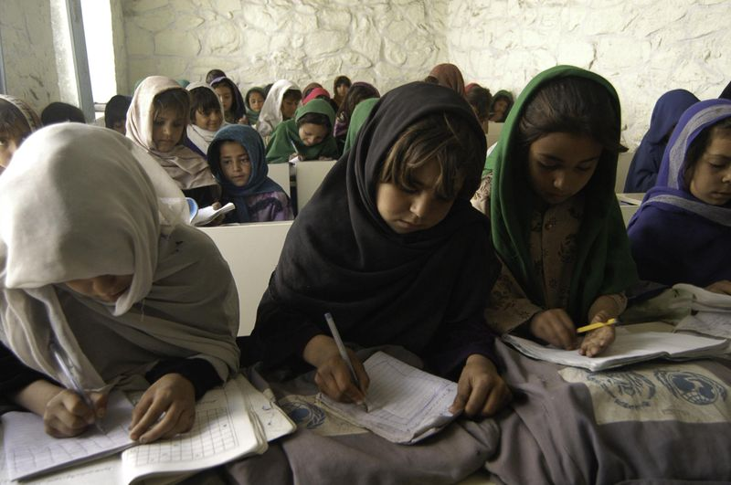 Girls School in Afghanistan