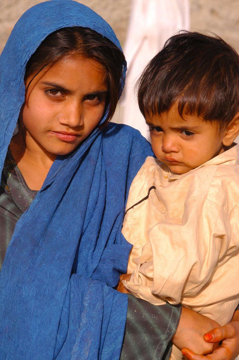 Children, Waziristan, Pakistan, 2004 Daniel Sullivan